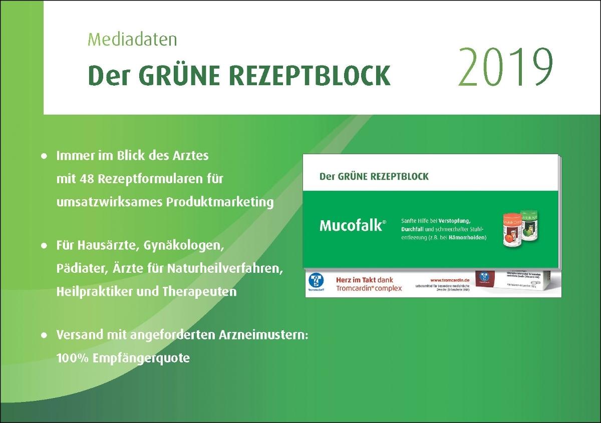 Mediadaten Das GRÜNE REZEPT
